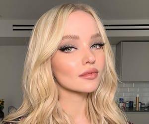 eyeliner, hair, and lashes image