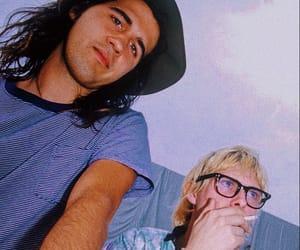 kurt cobain, nirvana, and krist novoselic image