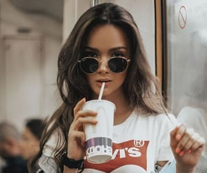 girl, levi's, and levis image