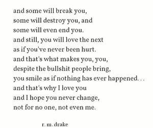broken, emotions, and feelings image