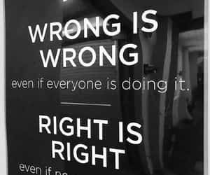 quotes, Right, and wrong image