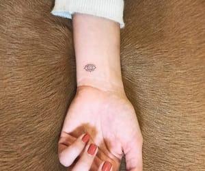 inked, eye tattoo, and tattooed image