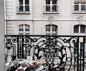 travel, paris, and balcony image