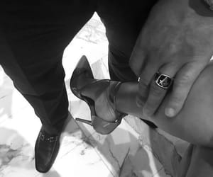 accessories, high heels, and fashion couple image