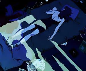 aesthetic, sad, and anime image