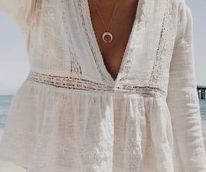 fashion, beach, and white image
