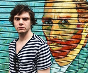 evan peters, art, and actor image