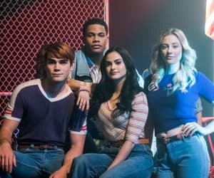 betty cooper, chuck clayton, and veronica lodge image