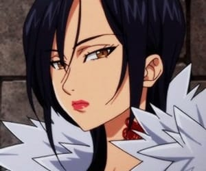 anime girl, icons, and merlin image
