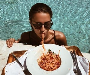 fashion, summer, and food image