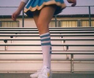 aesthetic, cheerleader, and retro image