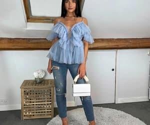 bag, top, and heels image