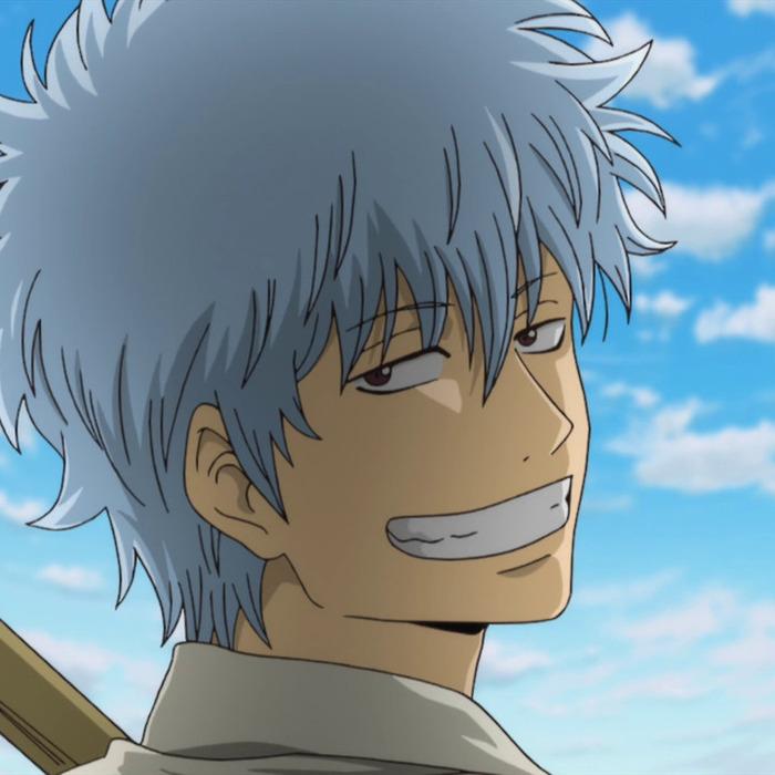 gintama, anime, and gintoki image
