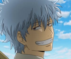 gintama, anime, and gintoki image