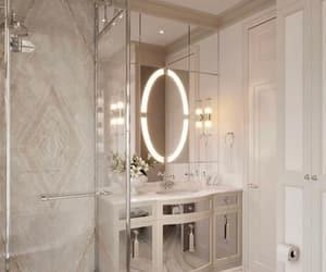 bathroom, dream home, and home decor image