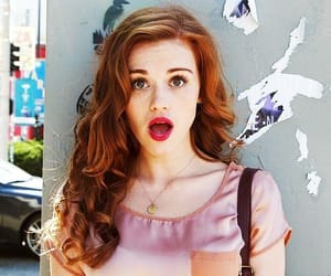 girls, red, and holland roden image