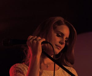 aesthetic and lana del rey image