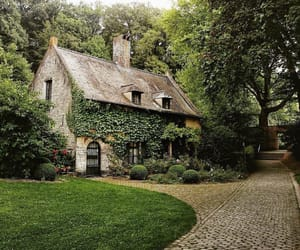home, house, and nature image
