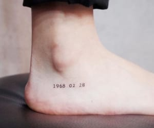 tattoo and date image