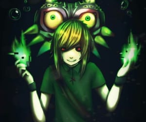 majoras mask, creepypasta, and ben drowned image