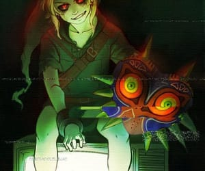 zelda, majoras mask, and creepypasta image