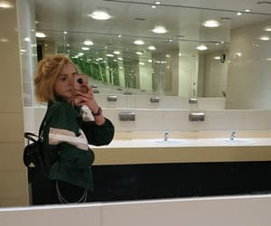 aesthetic, mirror, and fashion image
