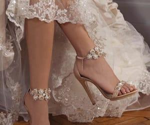 shoes, wedding, and heels image