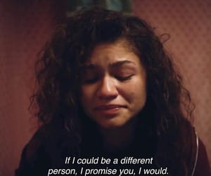 euphoria, zendaya, and rue image