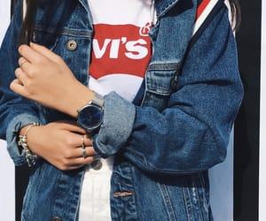 blue, clothing, and denim image