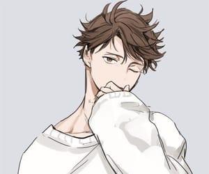 haikyuu, anime, and oikawa image
