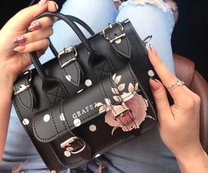 bag, black, and nails image