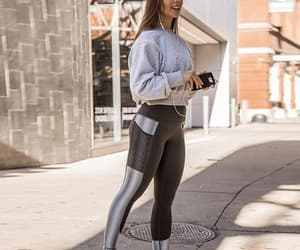 fitness, leggins, and workout image