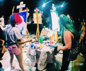aesthetic, fisheye, and art image