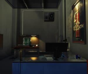 desk, goliath, and prey image