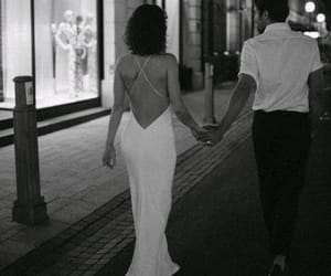 black & white, love, and couple image