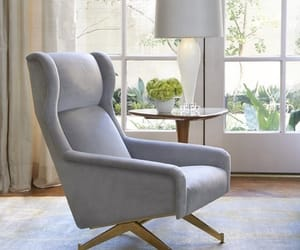 armchair, cosy, and dream house image