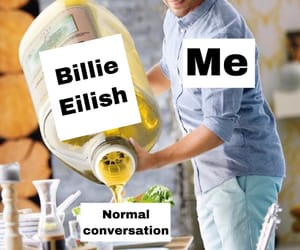 billie, funny, and haha image