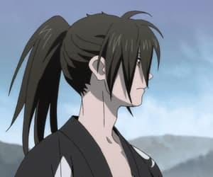 anime, gif, and hyakkimaru image