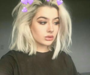 blonde and short hair image