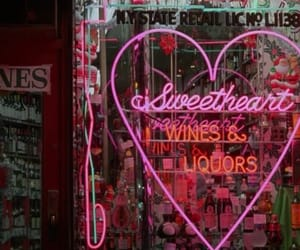 neon, pink, and light image