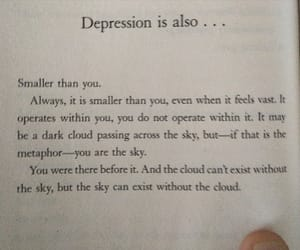 book, depression, and quotes image