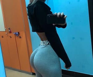 ass, beauty, and fitness image