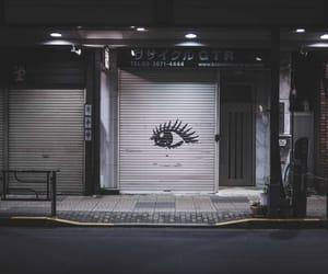 eye and street image