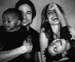 angelina, family, and happy image