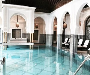 pool, architecture, and travel image