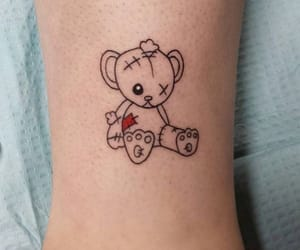 tattoo, archive, and bear image