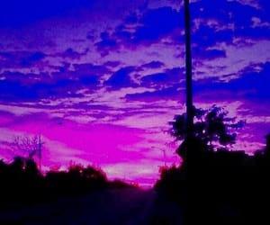 purple, header, and sky image