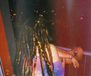boho, dreadlocks, and dreads image