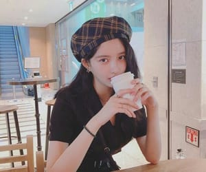 asian fashion, beret, and instagram image