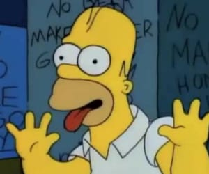 memes, the simpsons, and reaction pic image